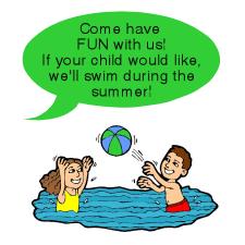 Come swim with us!